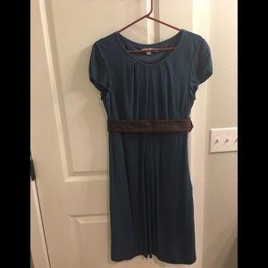 Boden tab sleeve knee-length dress